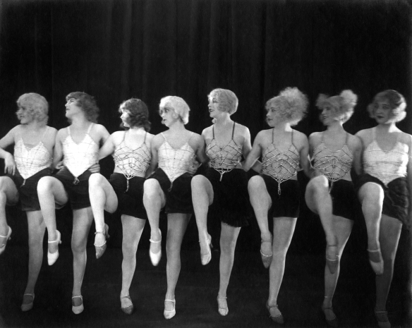 The Pleasure Garden Cabaret Dancers