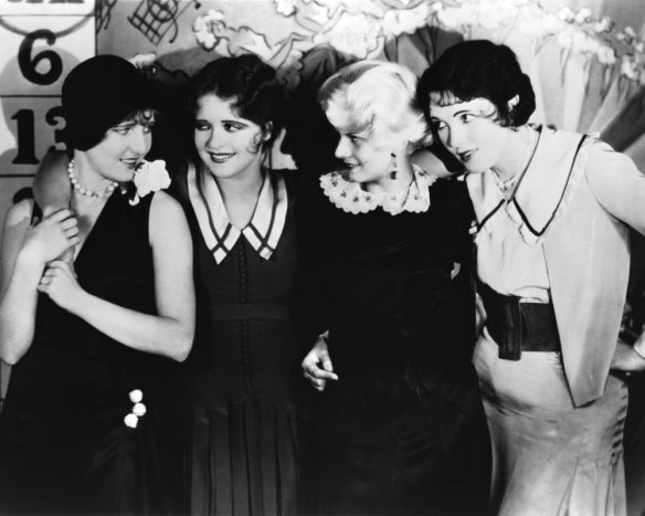 The Girls - Jean Arthur, Clara Bow, Jean Harlow and Ethel Wales
