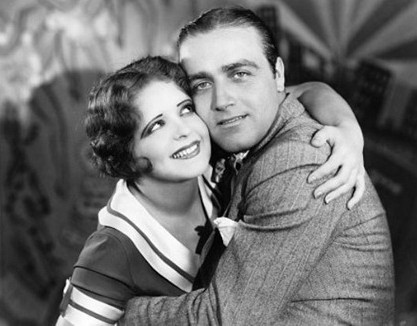 Mayme (Clara Bow) and Bill (James Hall)