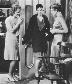 Clara Bow, Jean Harlow and Jean Arthur