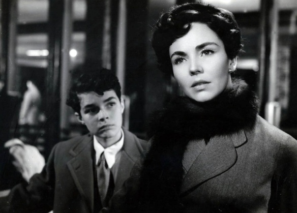 Richard Beymer and Jennifer Jones